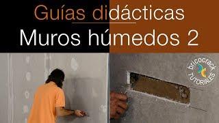 Aislar un muro húmedo con placas de yeso laminado 2 (Bricocrack)