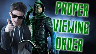 The Beginner's Guide to the Arrowverse (pre-Crisis on Infinite Earths)! | Arrowverse Viewing Order