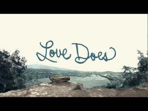 Brandon Heath - Love Does - Official Lyric Video