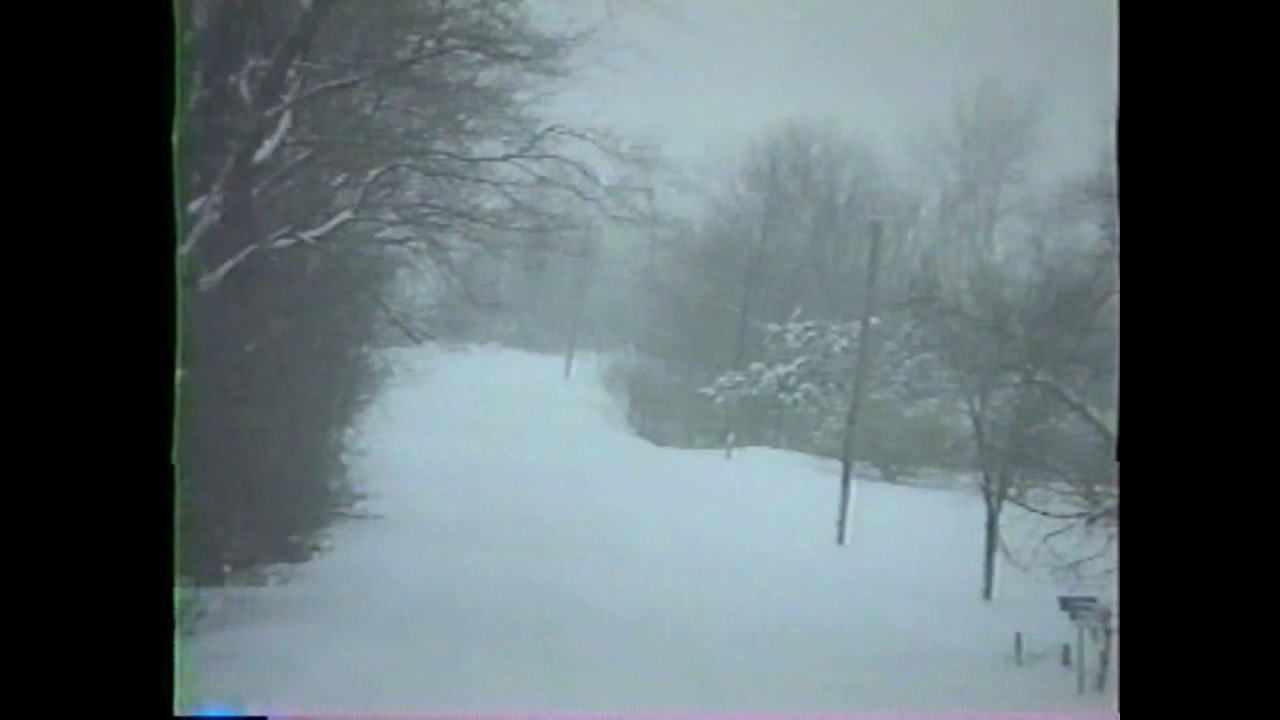 Champlain Town Snow Plowing - 1988