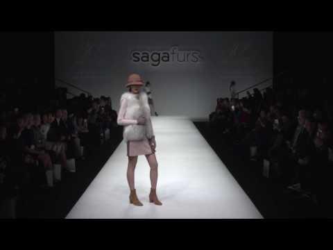 Saga Furs Design Centre Collection - Saga Furs 30th Anniversary in China Fashion Show