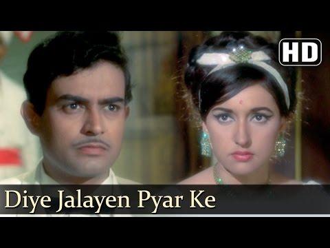 Diye Jalayen Pyar Ke (HD)| Dharti Kahe Pukar ke Songs | Sanjeev Kumar | Nivedita | Jeetendra