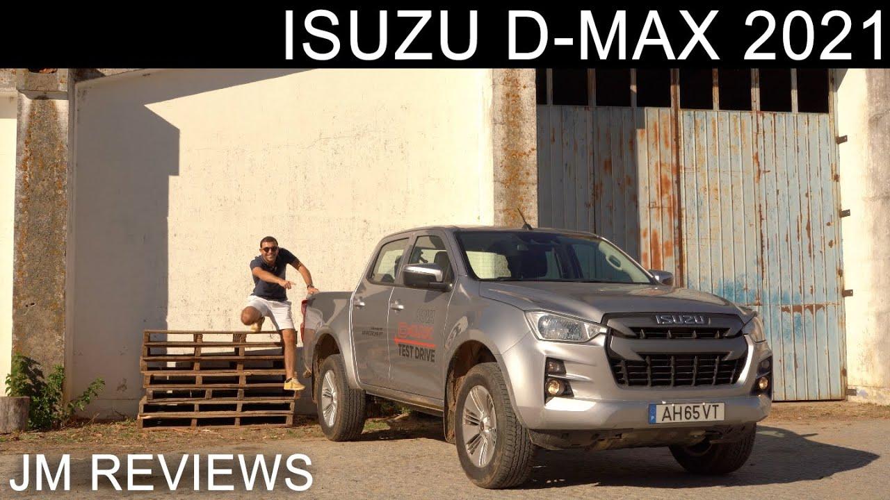 Isuzu D- Max 2021 - Mais Tecnológica, Mais Moderna E... MAIS INTERESSANTE!! - JM REVIEWS 2021