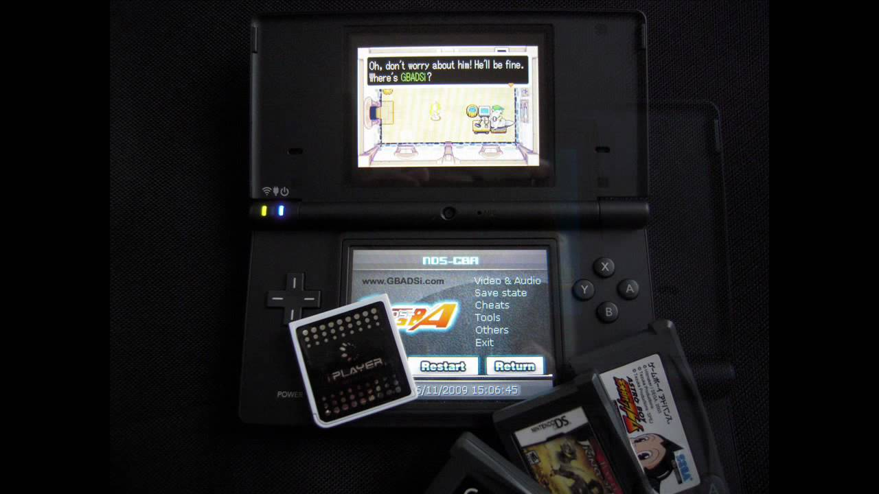 How to Play Game Boy Advance games on a Nintendo DSi