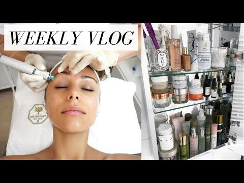 BEAUTY ROOM CLEAN OUT,  VEGGIE SOUP RECIPE & MICRONEEDLING FACIAL | VLOG #6 | Annie Jaffrey