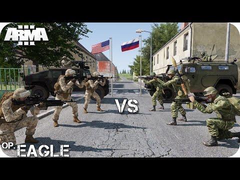 MISIÓN TEAM Vs TEAM | OPERACIÓN EAGLE | PVP O TVT ArmA 3 Gameplay Español (1440p60 HD)