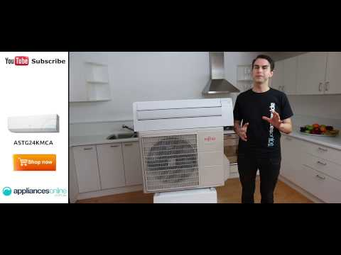 The Fujitsu 7.1kW ASTG24KMCA Reverse Cycle Spilt System Inverter Air Conditioner - Appliances Online