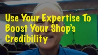 Using your expertise to boost your shop