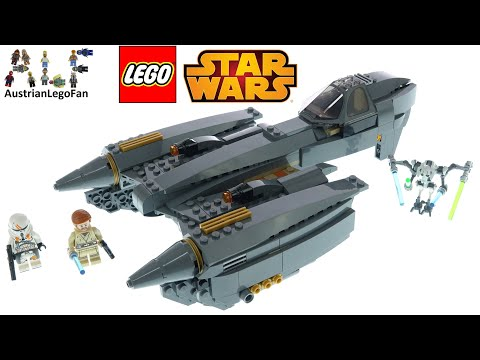 LEGO Star Wars 75286 General Grievous's Starfighter - Lego Speed Build Review