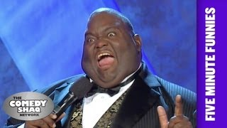 Lavell Crawford⎢I'm a Momma's Boy⎢Shaq's Five Minute Funnies⎢Com