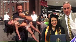 18 years after saving her life, retired detective celebrates student's graduation