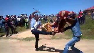 Xhosa Stick fighting - Qula Kwedini KaBawo