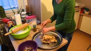 Бешбармак из курицы