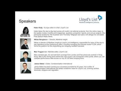 Lloyd's List Shipping Outlook 2017 Webinar
