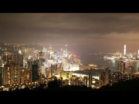 Hong Kong's light pollution