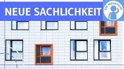 Neue Sachlichkeit / Literatur der Weimarer Republik - Literaturepoche einfach erklärt - Merkmale