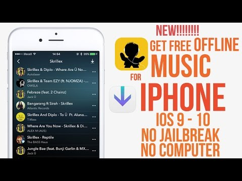 New! Get Free Offline Music for IPhone IOS 9 - 9.3.3 / 9.3.4 / 9.3.5 / 10 No Jailbreak No Computer