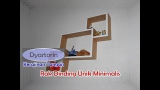 Video Cara Membuat Rak Dinding Unik Minimalis Dari Kardus download MP3, 3GP, MP4, WEBM, AVI, FLV Juli 2018