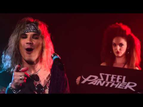 """Steel Panther - """" A Shout Out for you Tom Fitzgerald """" for the Rock of Ages Rock 'N' Roll Shout"""