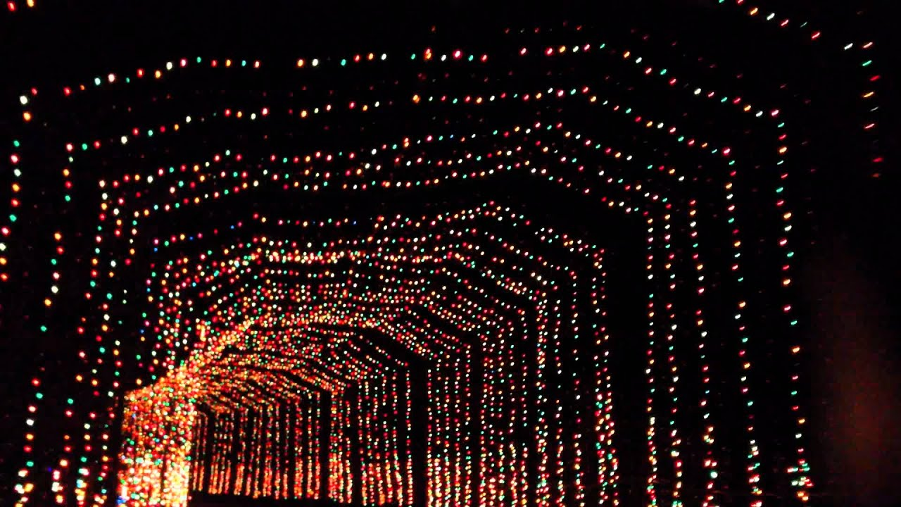 Lovely BLORA Christmas Light Tunnel 2011.mp4