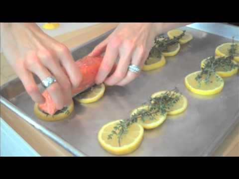 Succulent Lemon-Thyme Salmon