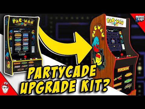 Arcade1Up - Can the $199 PartyCade be used as an Upgrade Kit? from Console Kits