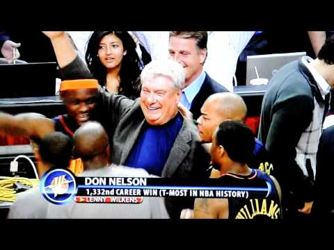 Don Nelson and the Warriors celebrate!