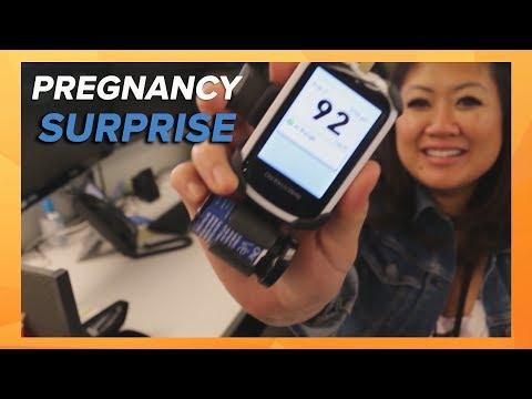 Pregnancy surprise: gestational diabetes