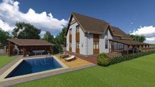 видео Проекты домов с бассейном. Купить красивые проекты домов с бассейном