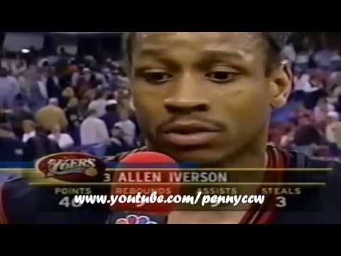 The Longest and the BEST Allen Iverson Video ever!! *AI 17 40pt+ Games HIGHLIGHTS 2001