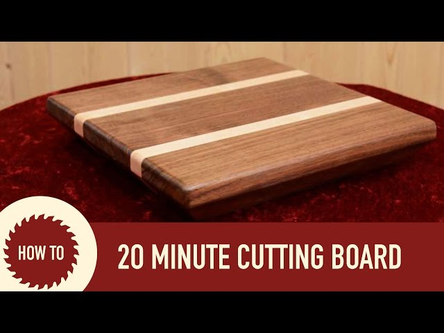 diy cutting boards how to make a cutting board