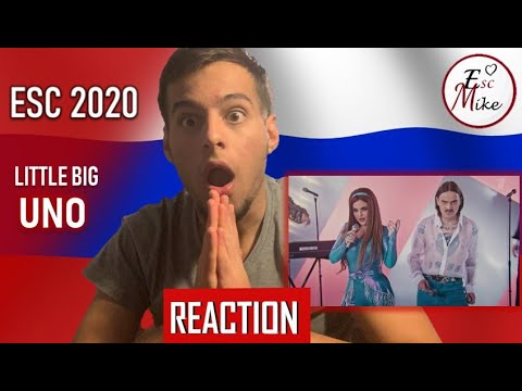 Eurovision 2020 - Russia [REACTION] - Little Big - Uno