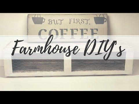 FARMHOUSE KITCHEN DIY PART 1 | FARMHOUSE DIY | DIY PROJECTS | FARMHOUSE KITCHEN
