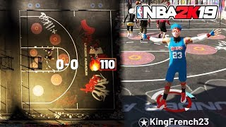 BEST PURE SHARP GOES ON 110 GAME WIN STREAK AT CAGES NBA 2K19 👑