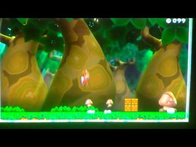 Super Mario Bros. U - Marathon Glide