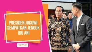 Ibu Ani Yudhoyono Dijenguk Oleh Presiden Joko Widodo