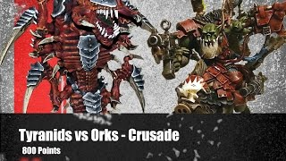 Tyranids vs Orks - Crusade - 7th Edition 40k Battle Report