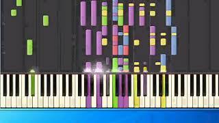 Lulu - Boom bang a bang (ge) [Piano Tutorial Synthesia]