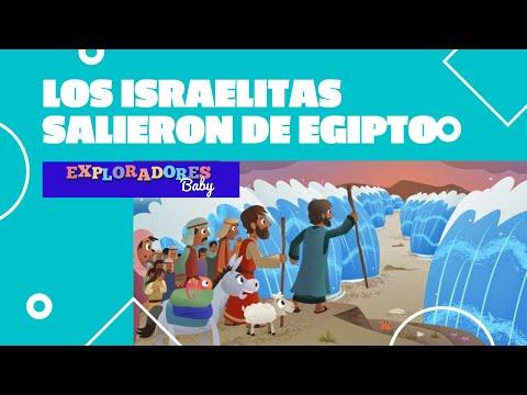 Lección 7: Los Israelitas Salieron De Egipto - Exploradores Jr.