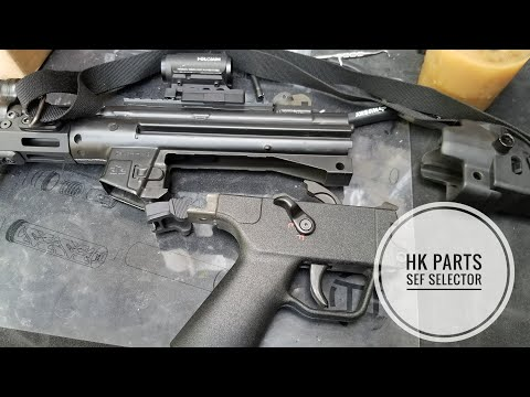 HK PARTS SEF Selector Install on Full Auto MP5
