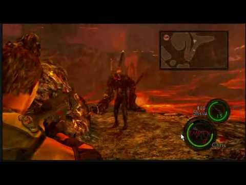 Resident Evil 5 Wesker Final Battle Finally Youtube