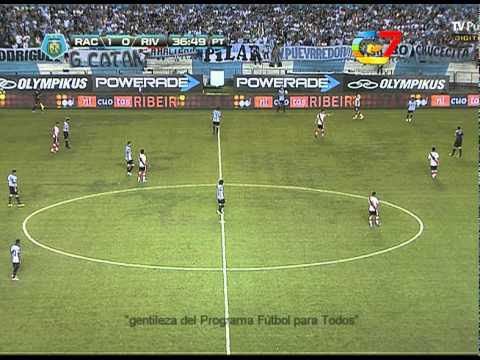 Canal 7 transmitiendo partido de la Tv Publica HD