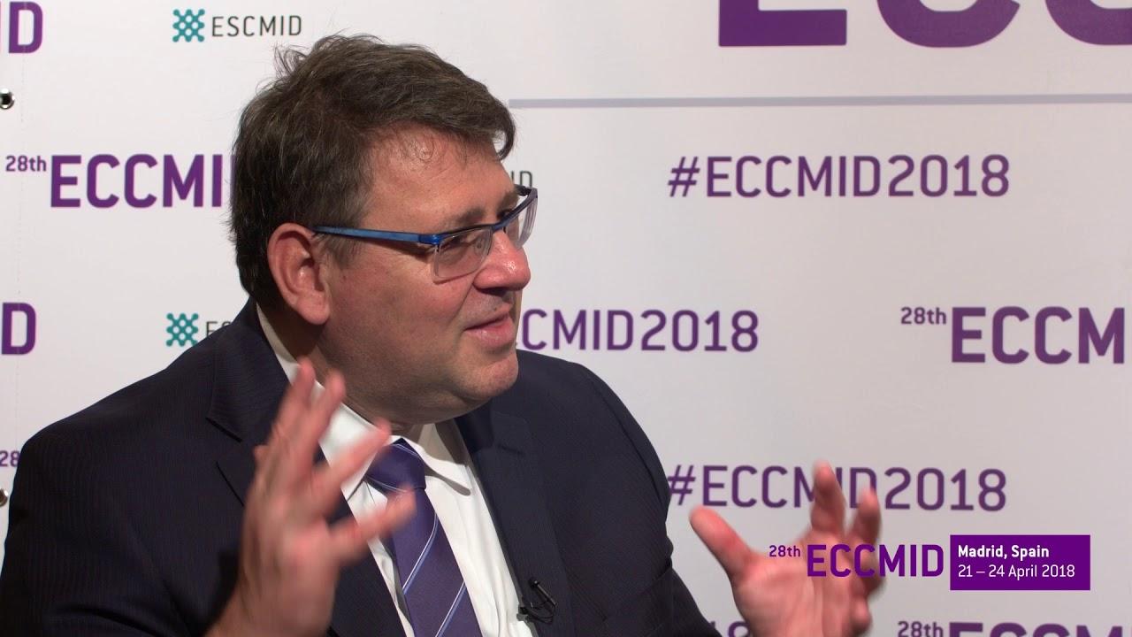 Download ECCMID 2018: Mycology expert Dimitrios Kontoyannis, excellence awardee
