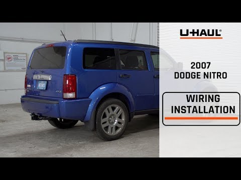 [SCHEMATICS_4ER]  etrailer   Trailer Wiring Harness Installation - 2008 Dodge Nitro - YouTube   2007 Dodge Nitro Trailer Wiring      YouTube