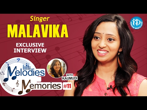 Singer Malavika Exclusive Interview || Melodies And Memories #11