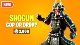 Fortnite SHOGUN Skin Worth it? Cop or Drop?