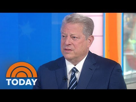 Al Gore: I'd Hoped Donald Trump Would 'Come To His Senses' On Paris Climate Pact | TODAY
