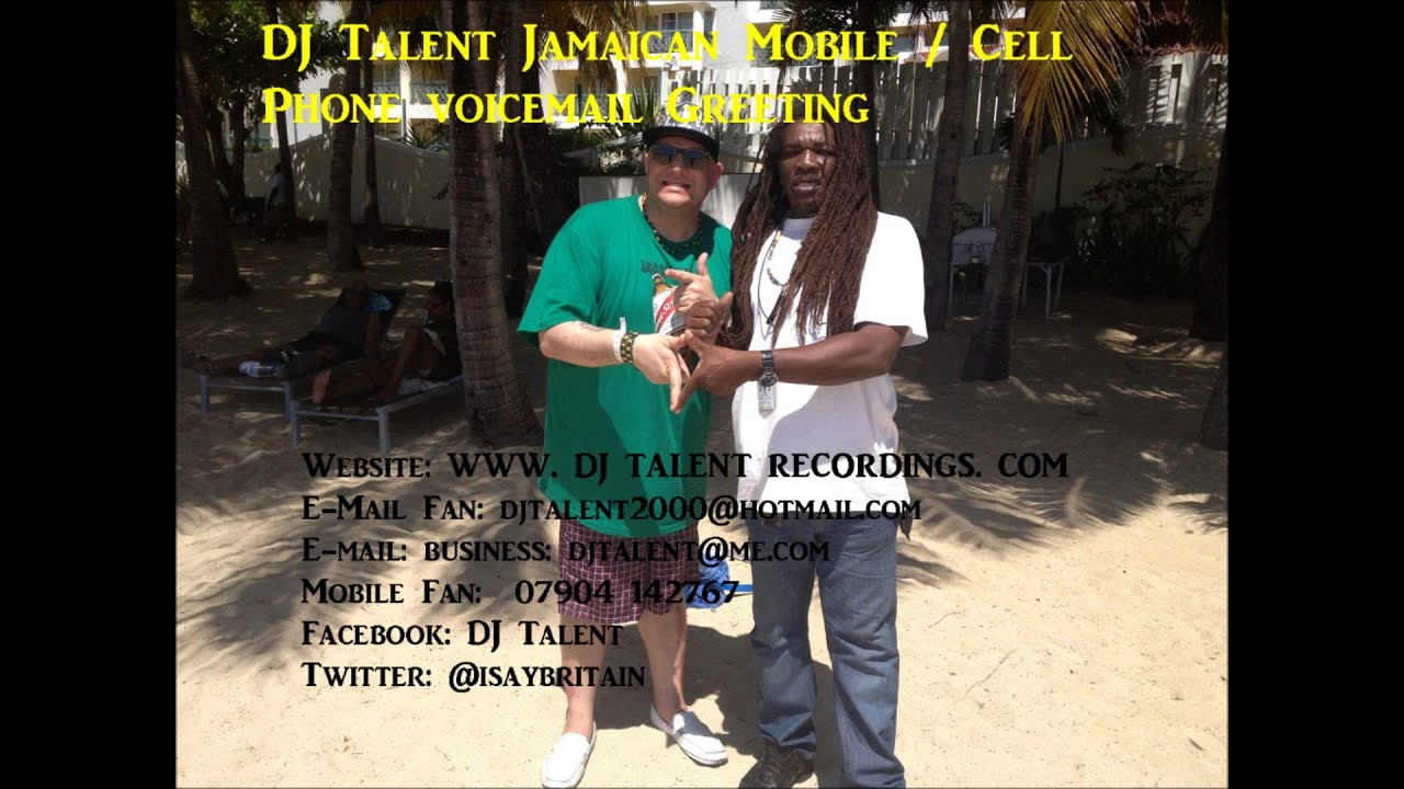 Dj talent jamaican mobile cell phone voicemail greeting youtube dj talent jamaican mobile cell phone voicemail greeting kristyandbryce Choice Image