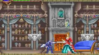 Castlevania: Aria of Sorrow Boss 5 Headhunter Battle