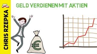 Grundlagen: Investieren in Aktien - Wie funktionieren Aktien? Geld verdienen mit Aktien